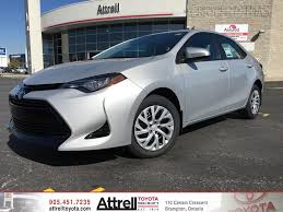 2017 Toyota Corolla LE Standard Package - Brampton ON - Attrell ...