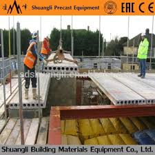 prestressed concrete hollow core slab machine prefab house steel frame prestressed concrete slab making machines on alibaba com
