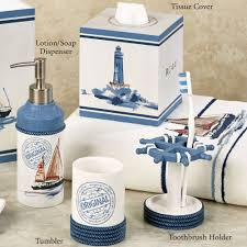 nautical bathroom accessories. nautical bathroom accessories coastal decor e