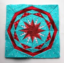 Paper Piecing Monday | WOMBAT QUILTS & finished paper piecing star Adamdwight.com