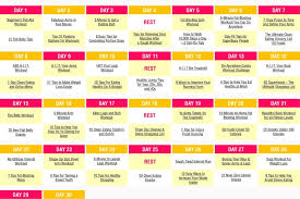 30 Day Weight Loss Challenge Skinny Ms