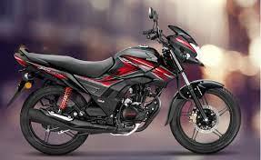 black honda shine sp 125cc bike srijan