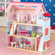 Our Chelsea Doll Cottage is filled with details young girls are sure to  love, like