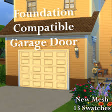 arch s sims 4 makeshift basketball hoop simple garage door