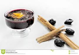 Peruvian Desserts Popular Peruvian Desserts Called Mazamorra Morada Made Out
