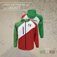 mardel uniforms mexico waterproof jacket special edition embroidered ebay