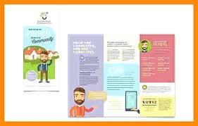 Openoffice Tri Fold Brochure Template Metabots Co