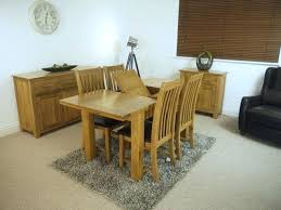oak extending dining table and 4 chairs base station oak extending dining table 4 chairs hudson
