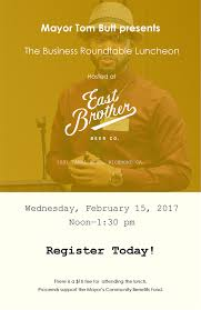 next richmond business roundtable at east brother beer company