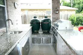 outdoor kitchens with green eggs green egg outdoor kitchen kitchen ideas big green egg outdoor kitchen