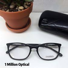 chanel 3281 black. new listingnew authentic chanel rx eyeglasses 3281 c.501 52 black color