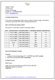 Mba Resume Format Download  resume sample pdf download download
