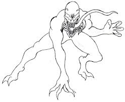 Small Picture Venom Coloring Pages fablesfromthefriendscom