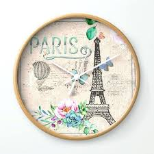 vintage wall clocks my love pink french vintage wall clock large vintage wall clocks uk antique