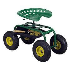 garden seat on wheels. Tractor Seat On Wheels Garden Cart