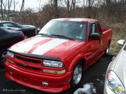 2002 Victory Red Chevrolet S10 Xtreme Extended Cab #61537714 Photo ...