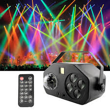 Party Lights That Go With Music Us 55 2 35 Off Sounds Party Lights La Ser Projector Rgbw Stage Light Music Center Strobe Lamp For Wedding Party Dance Dj Disco Magic Ball In Stage