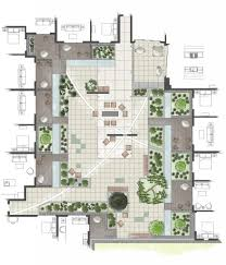 Small Picture Intensive Residential Green Roof Rendered Roof Garden Plan