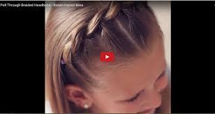 Video Návod Zaplétaný účes Pro Holčičky Nejen Do školy Jaksiudelatcz