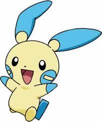 Pokemon Plusle Evolution Chart Minun Pokemon Go