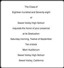 Formal Graduation Announcement Graduation Announcement Etiquette Elegantwoman Org