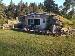 Earth Home Sheltered House Plans  House Plans  77484Earth Contact Home Plans