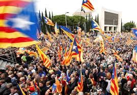 Image result for اعتصاب بزرگ کاتالانها در اعتراض به سرکوب وحشیانه جداییطلبان