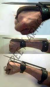 retractable forearm blade. forearm retractable blade weapon e