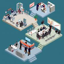 suits office. Set Of Isometric People In Business Suits The Office. Free Vector Office