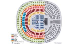 Qualcomm San Diego Seating Chart Seating Map For 1d In San Diego For Otra Follow