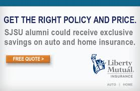 Liberty Mutual Car Insurance Quote Cool Auto And Home Insurance From Liberty Mutual SJSU Alumni