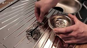 how to install or replace a basket strainer sink waste in a kitchen you