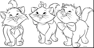 Cute Cat Coloring Pages To Print Thanhhoacarcom