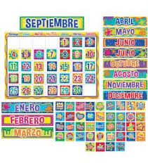 Scholastic Teaching Resources Monthly Calendar Pocket Chart