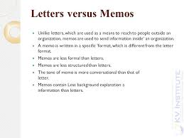 Memorandums And Letters Powerpoint Unit Iv Ppt Download