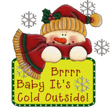 Image result for baby it's cold outside gif