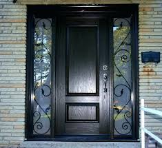 iron and glass front doors iron front door wood wrought iron exterior doors glass front and