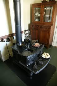 wood burning stove wikipedia