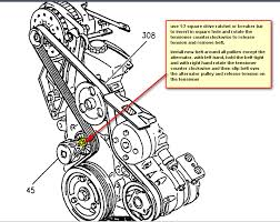 similiar water pump diagram 2003 buick rendezvous cx keywords buick rendezvous serpentine belt diagram further 2003 buick rendezvous
