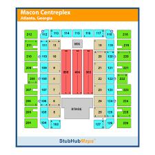 Macon Centreplex Coliseum Macon Ga Seating Chart Macon Centreplex Events And Concerts In Macon Macon