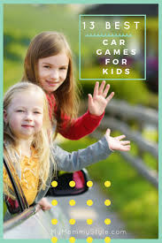 car games for kids and activities to