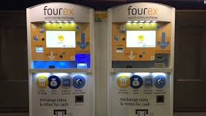 Currency Exchange Vending Machine Fascinating Fourex ATM Converts Leftover Foreign Currency CNN Travel