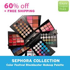 hot sephora blockbuster makeup palette 60 off