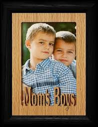 5x7 Moms Boys Portrait Frame Holds A 4x6 Or Cropped 5x7 Picture
