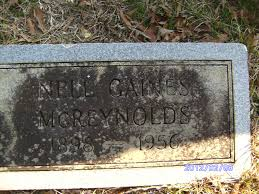 Nell Gaines McReynolds (1898-1956) - Find A Grave Memorial