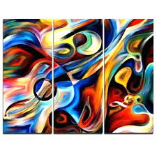 3 piece beach wall art home decoration picture paintings canvas wall art sky canvas printing