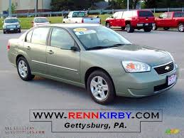 2006 Chevrolet Malibu LT V6 Sedan in Silver Green Metallic ...
