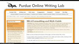 Mla Format Overview