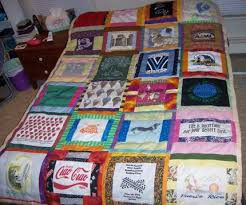 How to Make a T-Shirt Quilt - CraftStylish & Here is the finished product... just waiting to be moved to my dorm Adamdwight.com