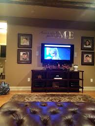 Tv Living Room Stewart Family Room Angle 4 Love That The Tv Is On Wall With